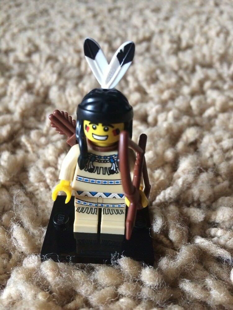 LEGO MINIFIGURES SERIES 1 8683 Tribal Hunter Indian