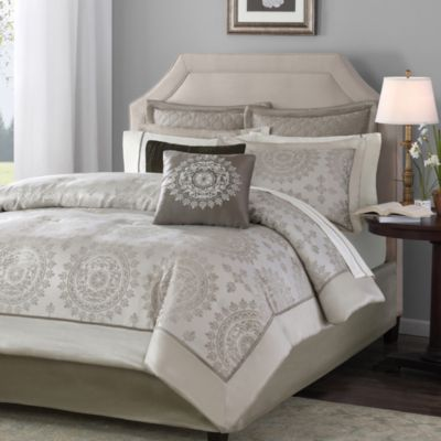 Bed Bath & Beyond Tiburon California King 12-Piece Bedding Set