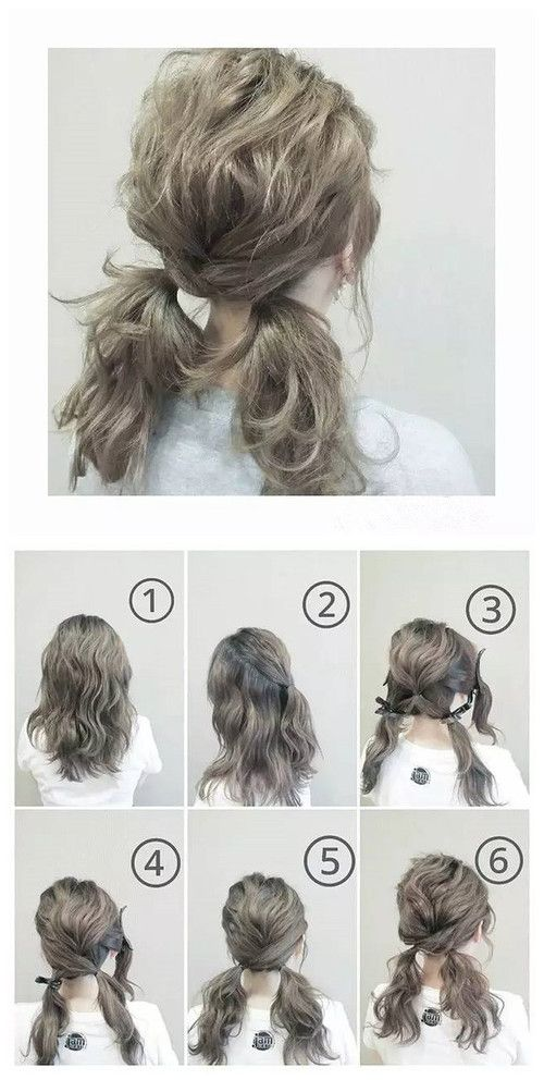Tactful Ponytail Braids Hair Styles on We Heart It