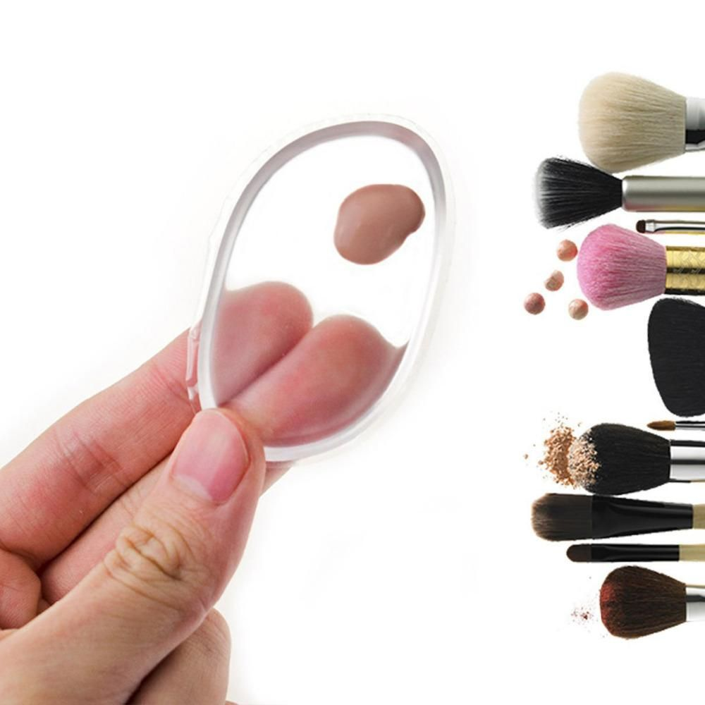 com 2 Esponjas de Silicone para Maquiagem - SiliSponge
