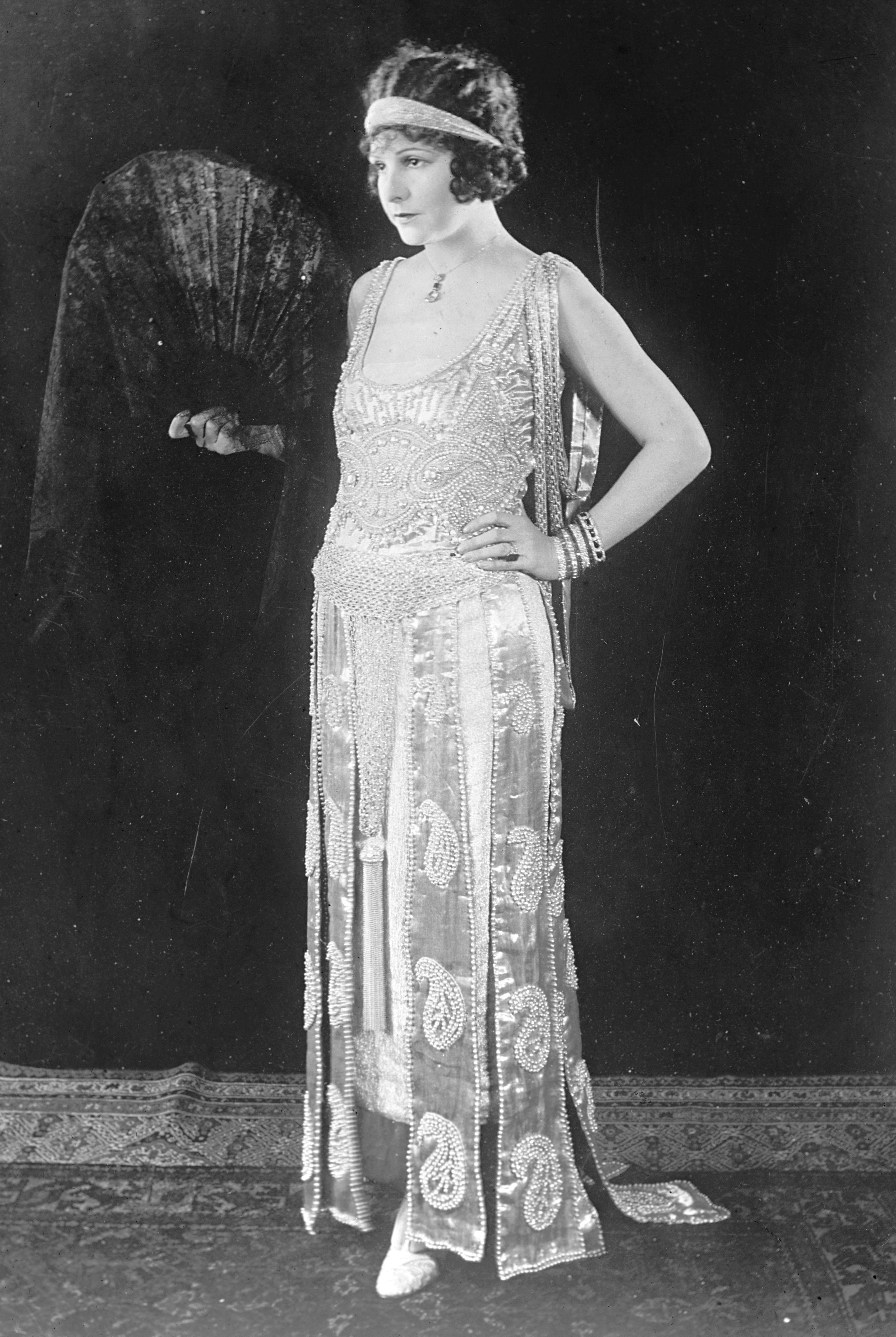 Clara Bow 1920s Flapper Dresses