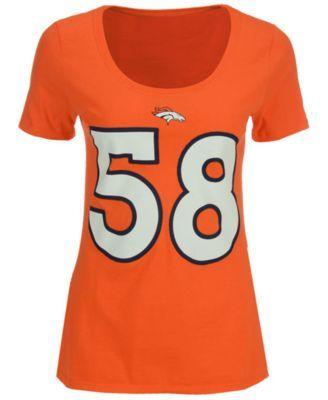 Nike Women s Von Miller Denver Broncos Player Pride T-Shirt - Orange ... 43f89767c