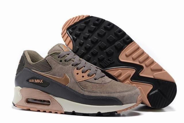 wholesale dealer 07579 e3084 Tendance Chaussures 2017 2018  Description nike baskets femme nike air  max 90 ultra marron et noir femme