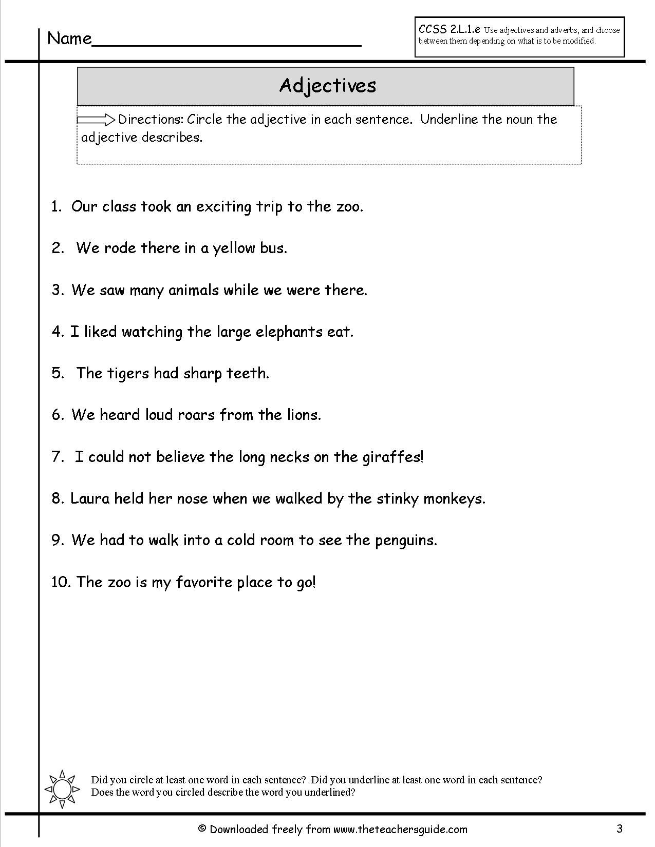 Pin By Pinning Teacher On Teaching Adjectives Adverbs