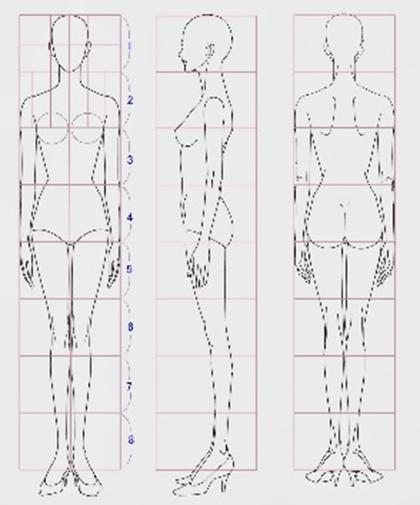 Como Dibujar El Cuerpo Humano Facil Es Dibujar Figurines De Moda Cuaderno De Bocetos De Moda Ilustracion De Moda