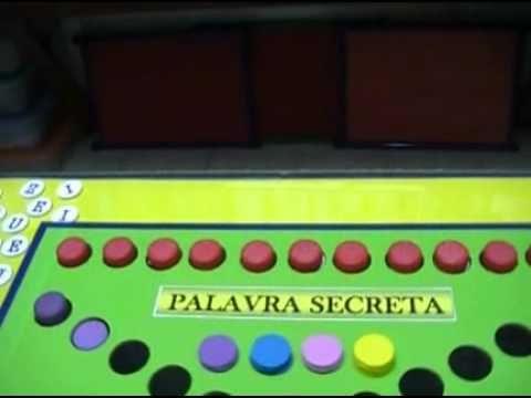 PALAVRA SECRETA (JOGO RECICLADO)
