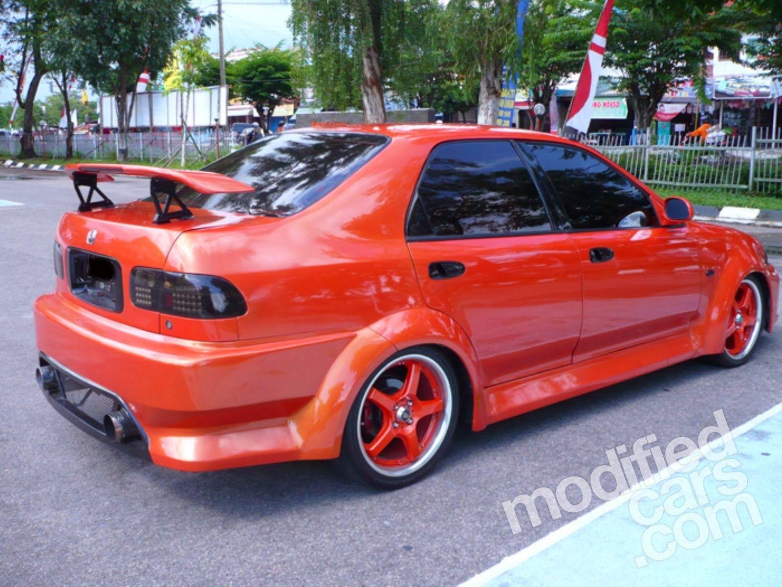 Modifikasi Mobil Honda Genio Merah Di 2020 Modifikasi Mobil
