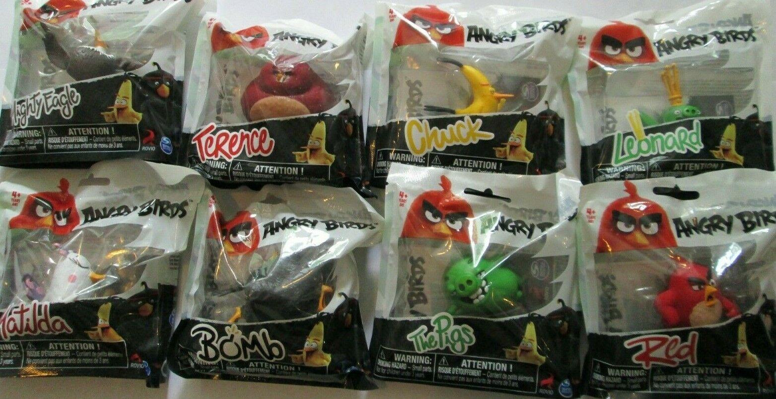 Angry Birds in Plastica Figura Leonard