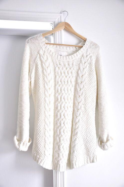winter white sweater  f51cb1f63
