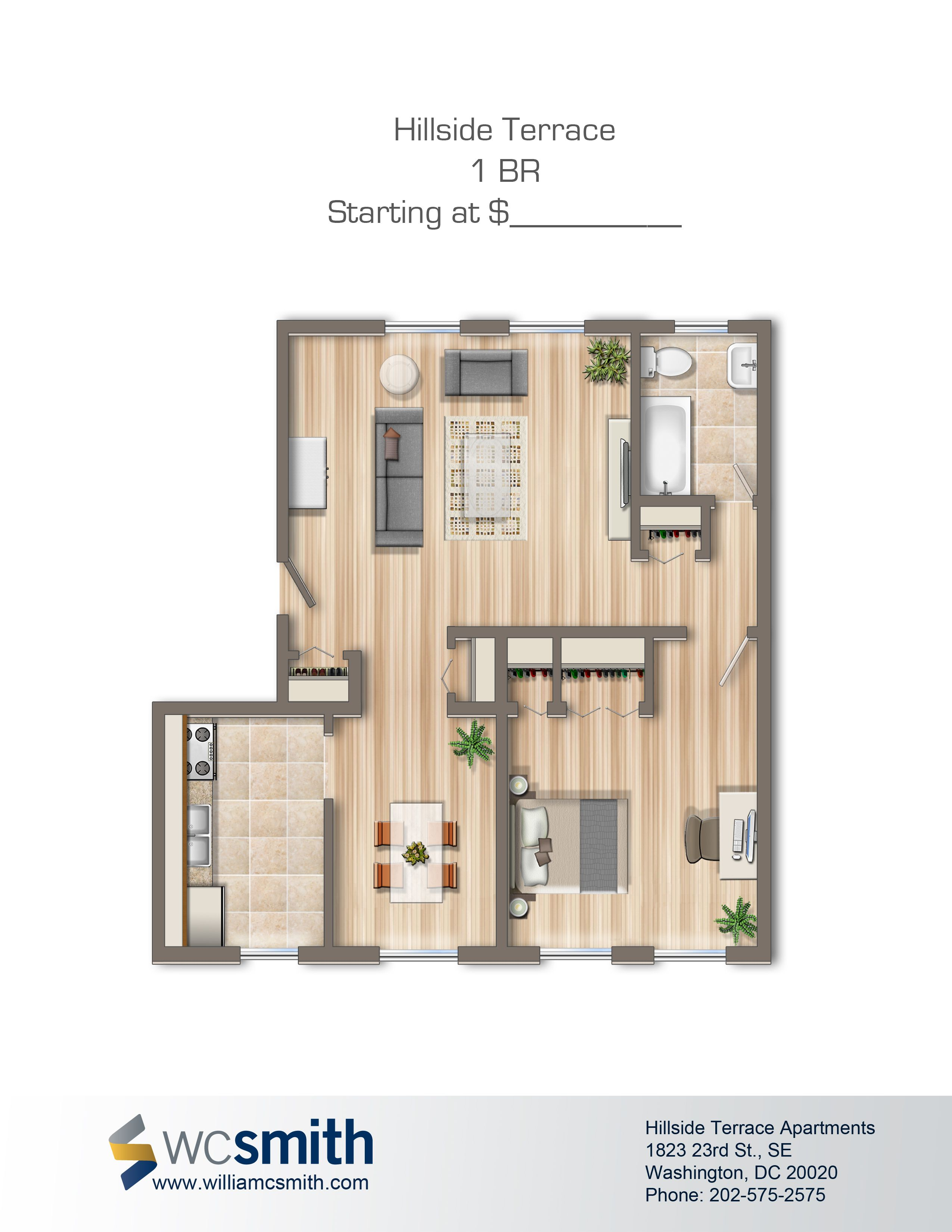 Hillside Terrace Apartments In Washington DC Apartment