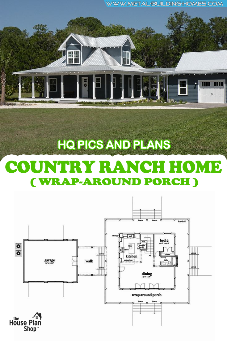 1260 Sq Ft Economical Rancher Home W Front Porch Rancher Homes Metal Building Homes Ranch Style Homes