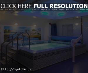 Contoh Photo Desain Kolam Renang Di Rumah Minimalis 016 Gambar Rumah