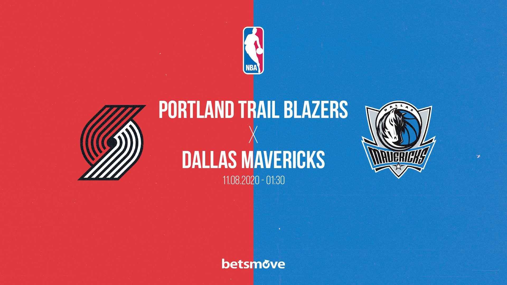 Portland Trail Blazers Dallas Mavericks Canli Izle 2020 Dallas Mavericks Blazers Dallas