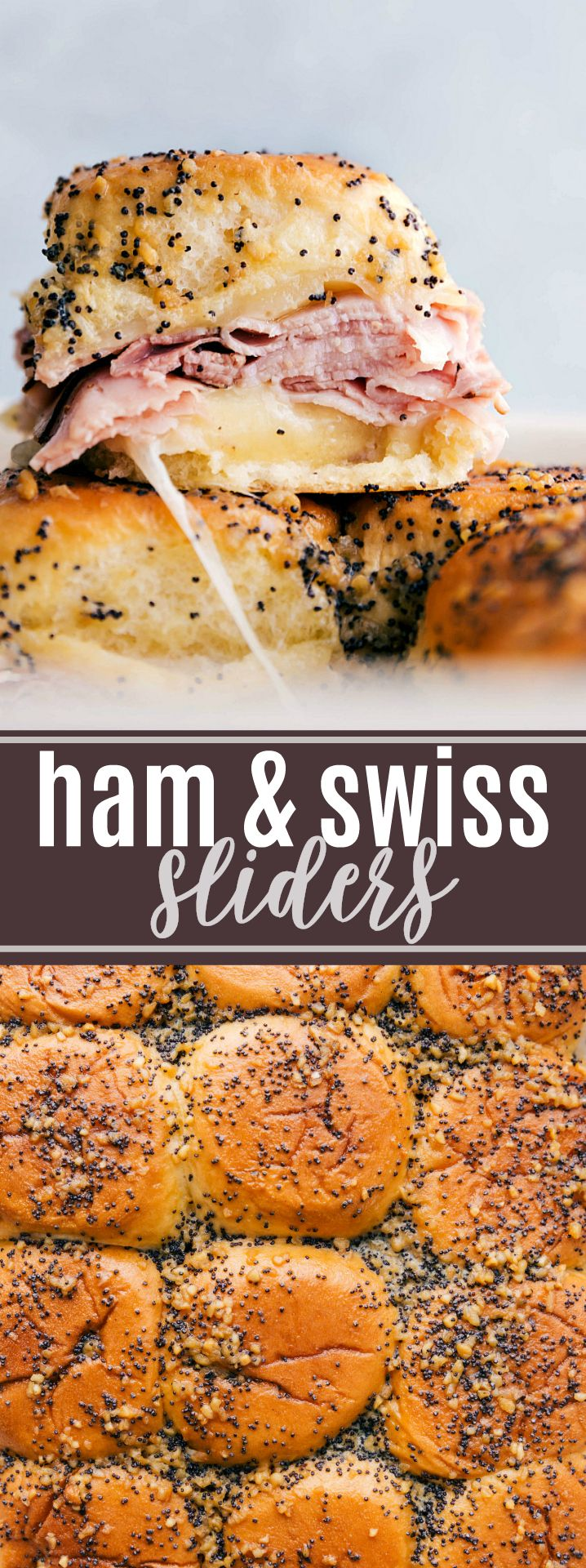 Ham and Cheese Sliders | Chelsea's Messy Apron