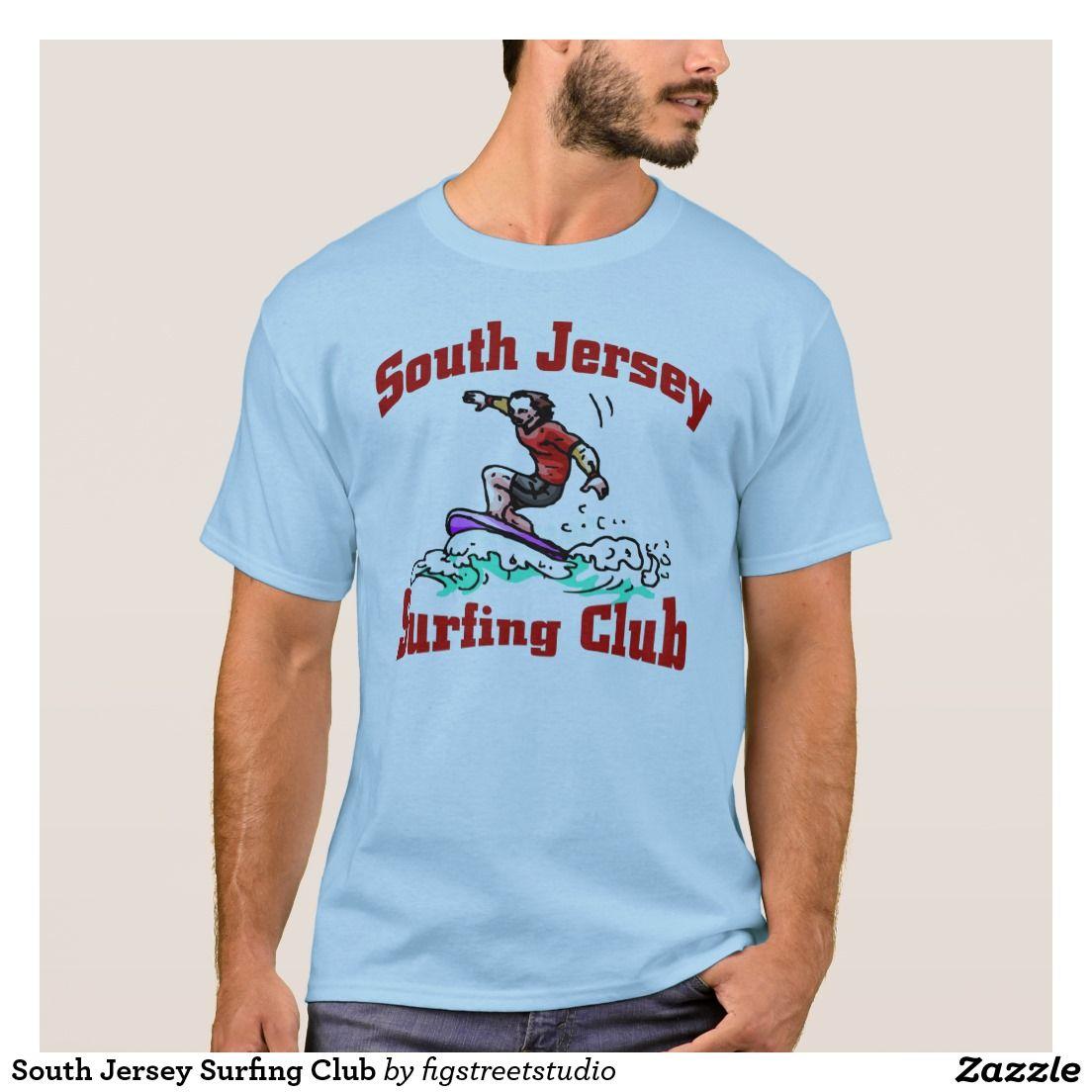 South Jersey Surfing Club France Flag T Shirt Shirts