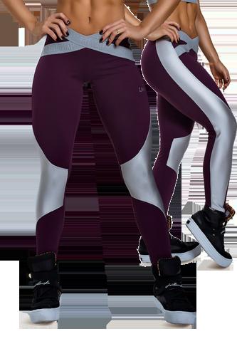 Leggings mit Leo Muster von Adidas | Sport Motivation