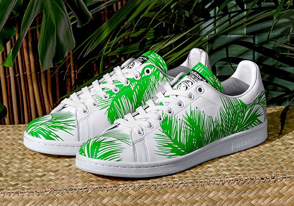 Pharrell x BBC x adidas Stan Smith Palm Tree | on the