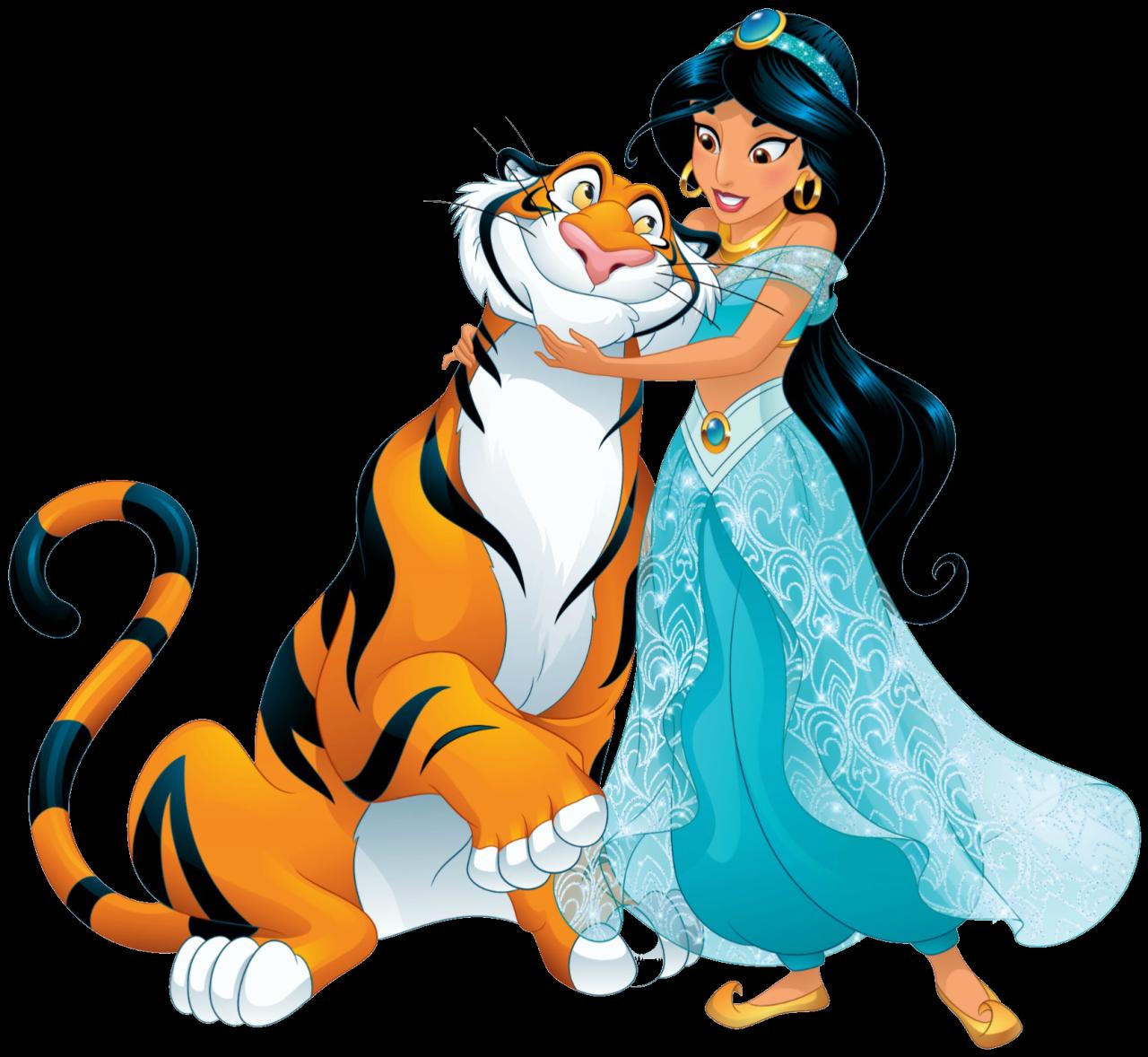 Princess Jasmine And Rajah