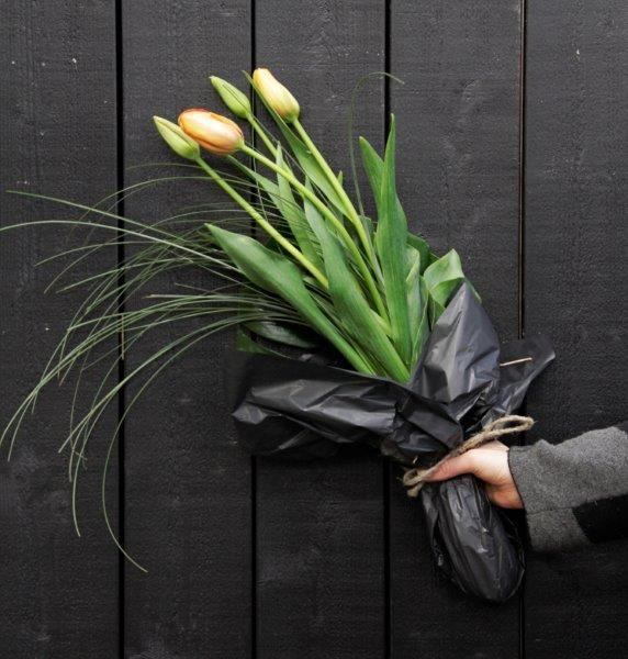 Leikkokimppu - kukkakimppu  tulppaani #flör