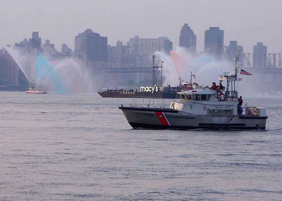 A US Coast Guard rescue boat, from Coast Guard Station Sandy - coast guard security sample resume