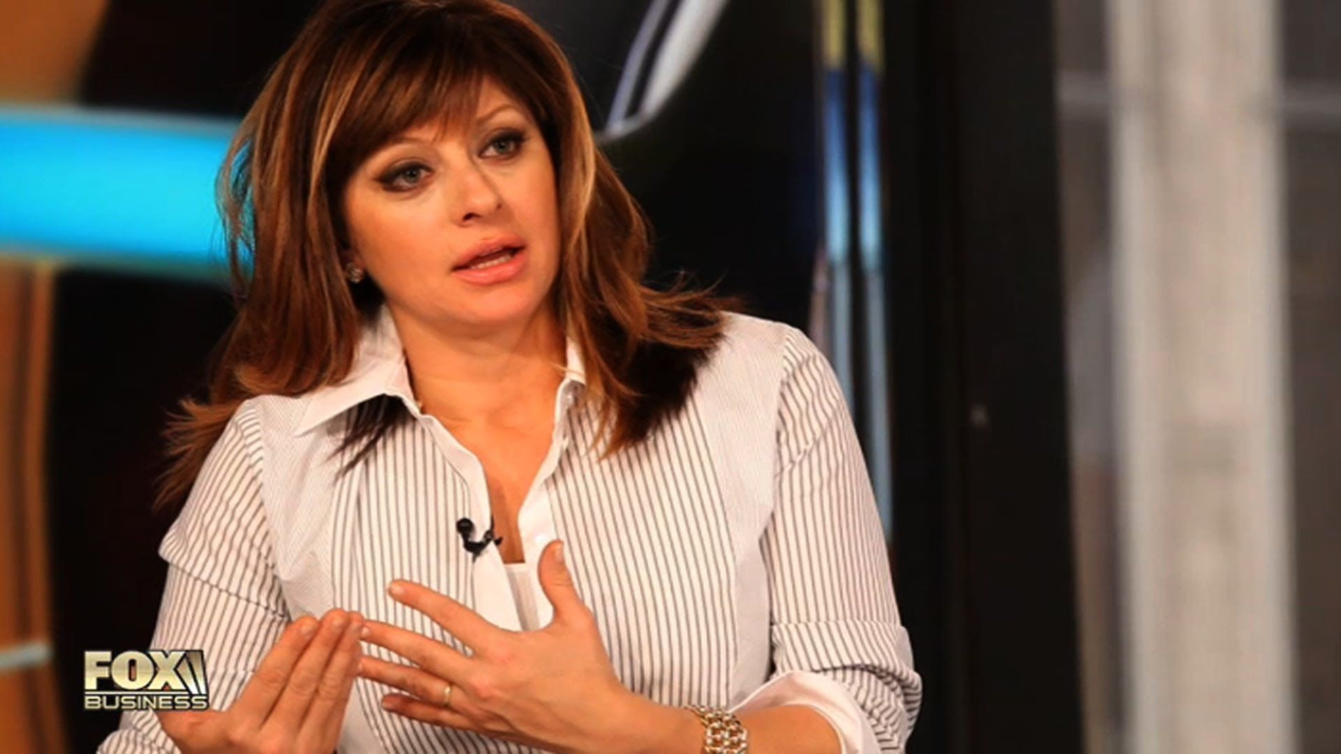 maria bartiromo settles in at fox business video items