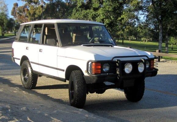 1992 Range Rover SWB Hunter | Bring A Trailer | Range rover classic