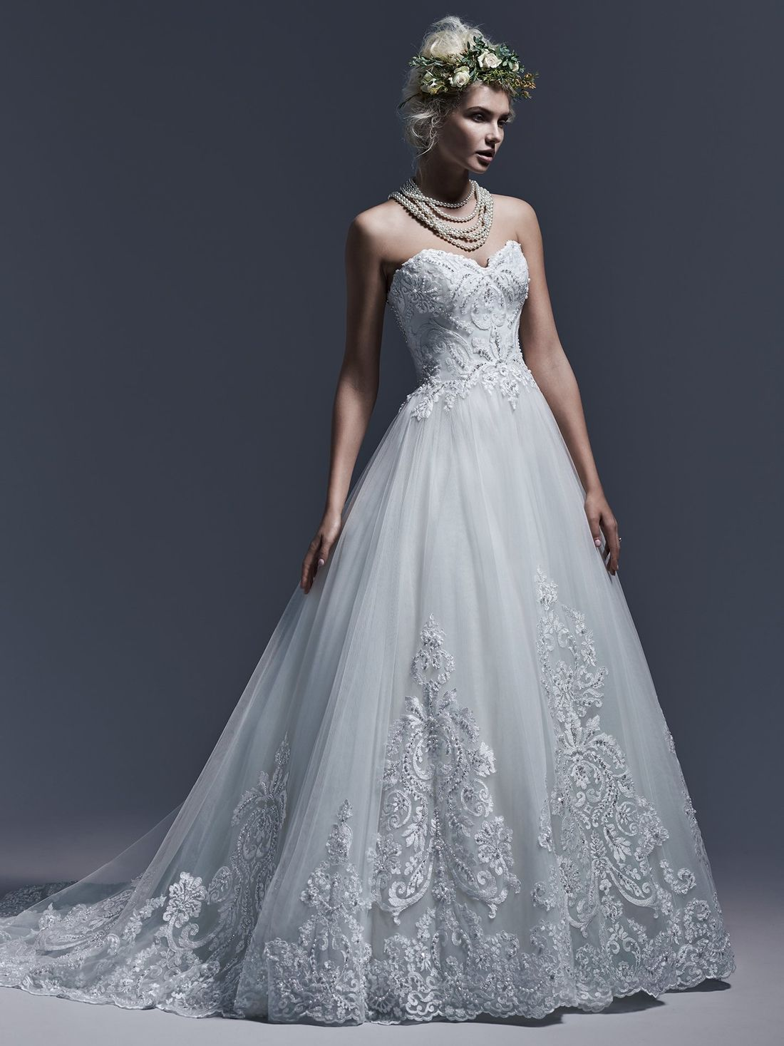 KleinfeldBridal.com: Maggie Sottero: Bridal Gown: 33193608: Princess ...