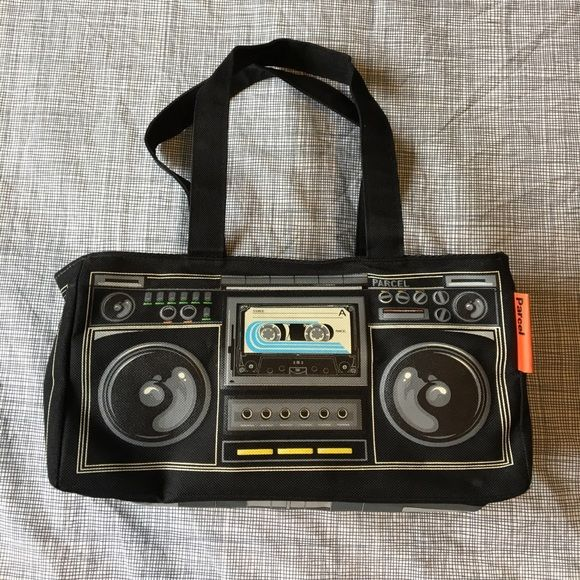 I Just Discovered This While Ping On Poshmark Vintage Loop Nyc Iii Parcel Boombox Bag Check It Out Size Os Listed By Prettymodest