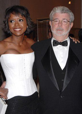 George Lucas Director Of Star Wars And Wife Mellody Hobson Georgelucas Famous Couples Celebrity Families Celebrity Couples