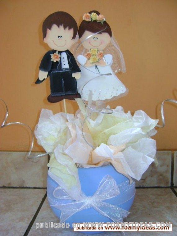 Como Hacer Centros De Mesa Para Boda Sencillos Y Economicos Wedding Children Diaper Cake