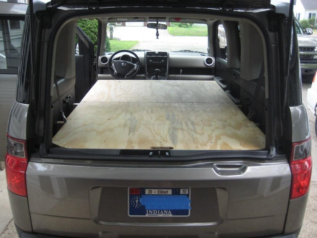 Another Sleeping Platform! Honda Element Owners Club in
