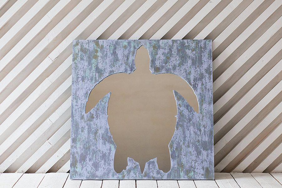 Черепаха Работа достигалась путем послойного нанесения и параллельного затирания изделия, выдержана в спокойных тонах, винтажный эффект.