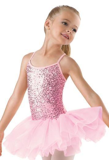 8307ba3ddac1 Sequin Camisole Tutu Dress - Little Stars Petite Pirouettes single ...