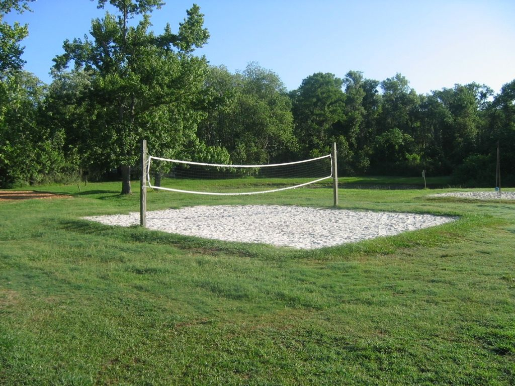 Mini Sand Volleyball Court Recreational Areas Activities With Images Sand Backyard Volleyball Court Backyard Sand Volleyball Court