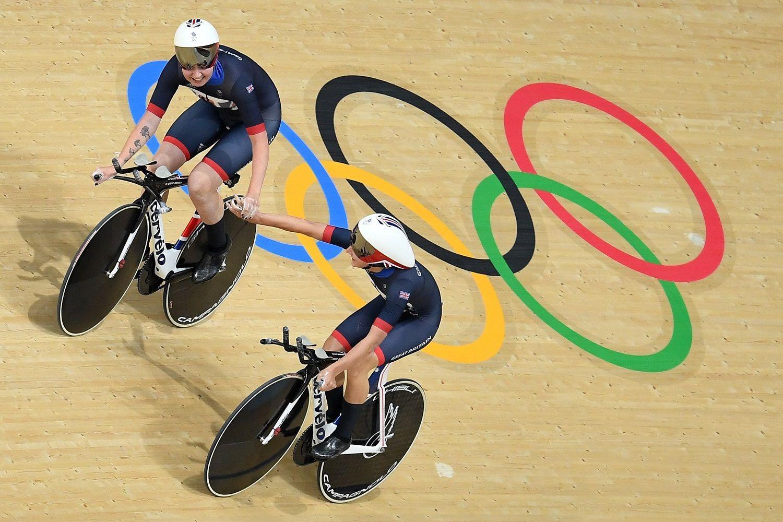 Rio 2016 Olympics track cycling Great Britain smash world