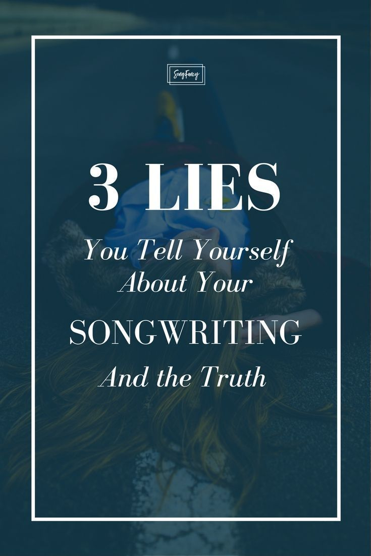 how to write a song about yourself