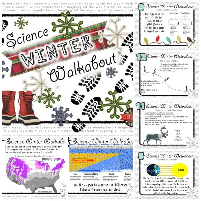 science winter walkabout science holiday fun middle school madness holiday fun science. Black Bedroom Furniture Sets. Home Design Ideas