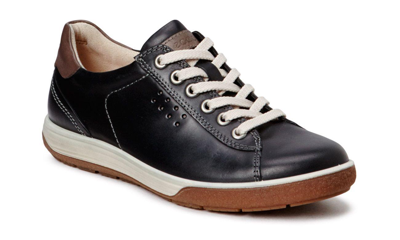 Chase Ii Black Dark Clay Ecco Oficjalny Sklep Internetowy Ecco Polska Shoes Sneakers Black
