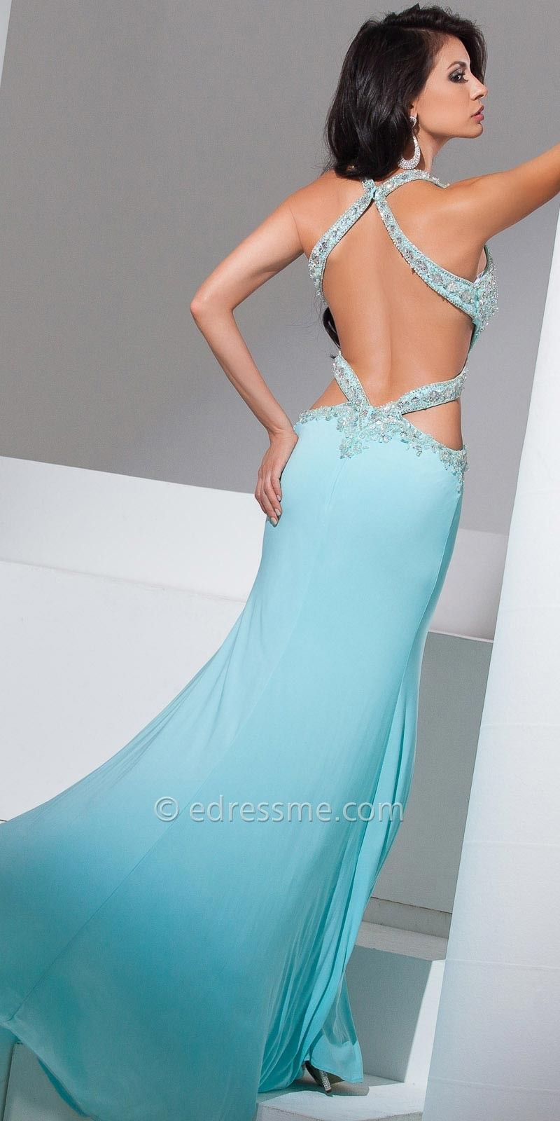 Jasmine Halter Prom Gown by Tony Bowls Le Gala | Jamaries prom ...