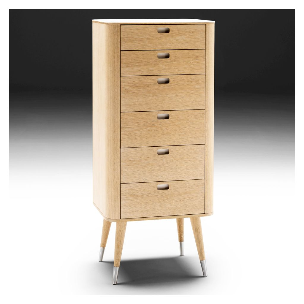 Corian Oak Ak2420 Tallboy Retro Bedrooms Bedroom Cabinets Tallboy Chest Of Drawers