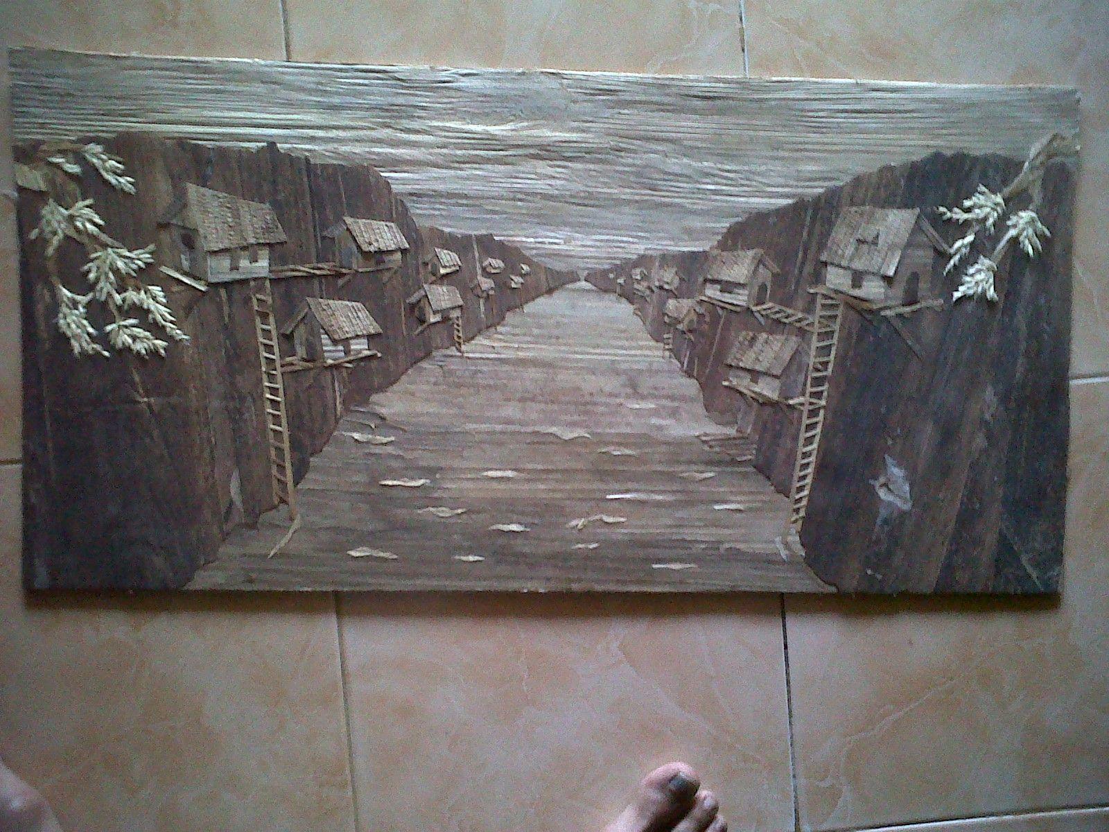 323701b6 Lukisan Pelepah Pisang Pinterest