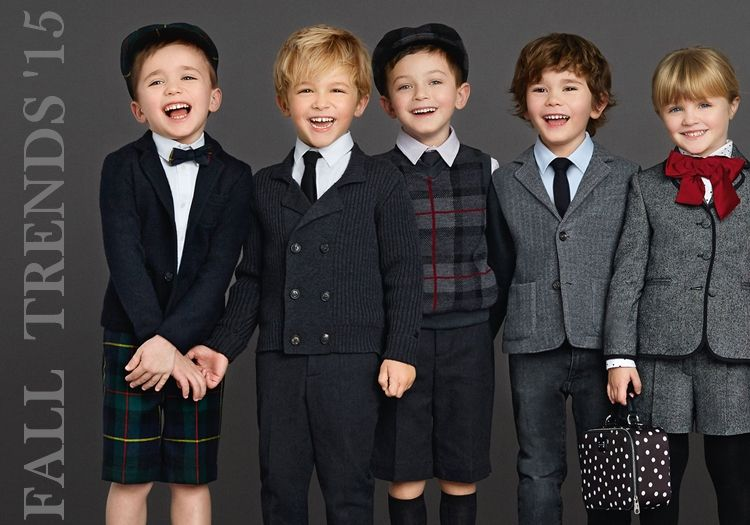 AW 15/ Fall trends for boys/ Dolce & Gabbana/ visit www.simplebabylife.com