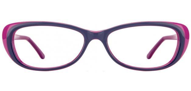 Vincent Chase Evil Eye VC 5892 Blue Pink C8 Women's Eyeglasses