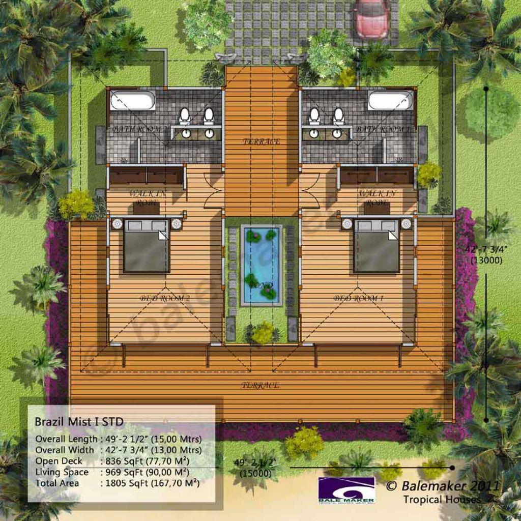 Bali haus haus design grundrisse haus grundrisse beste hauspläne tropische häuser