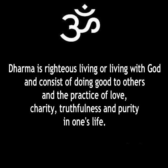 The description of dharma