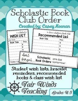 Scholastic book club free book