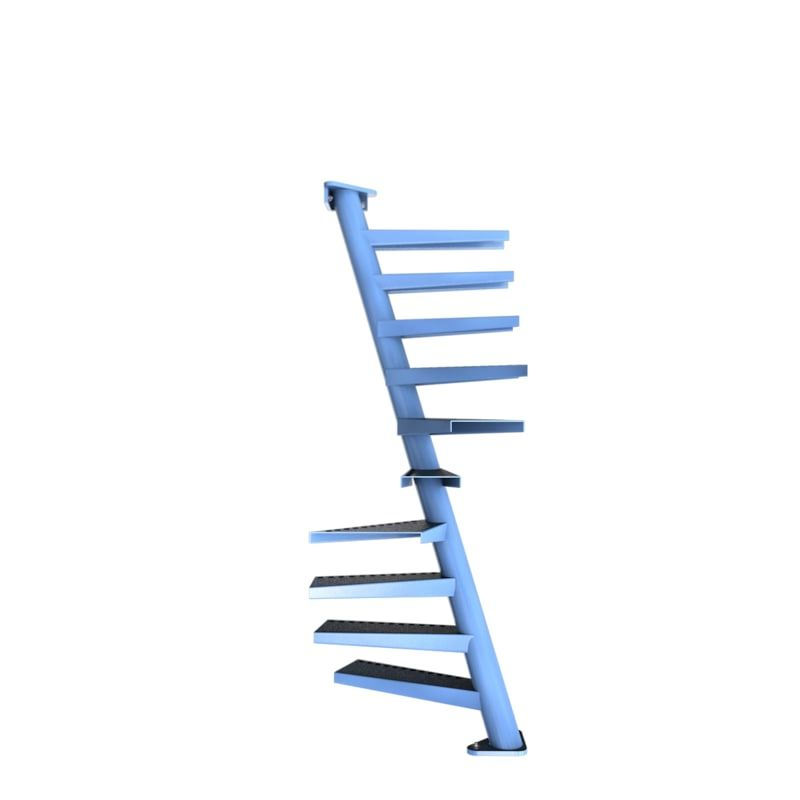 Best 3D Model Of Real Floating Spiral Staircase Escaleras 400 x 300