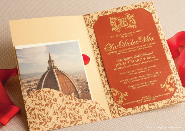 Invitation Inside This year\u0027s fundraising theme \