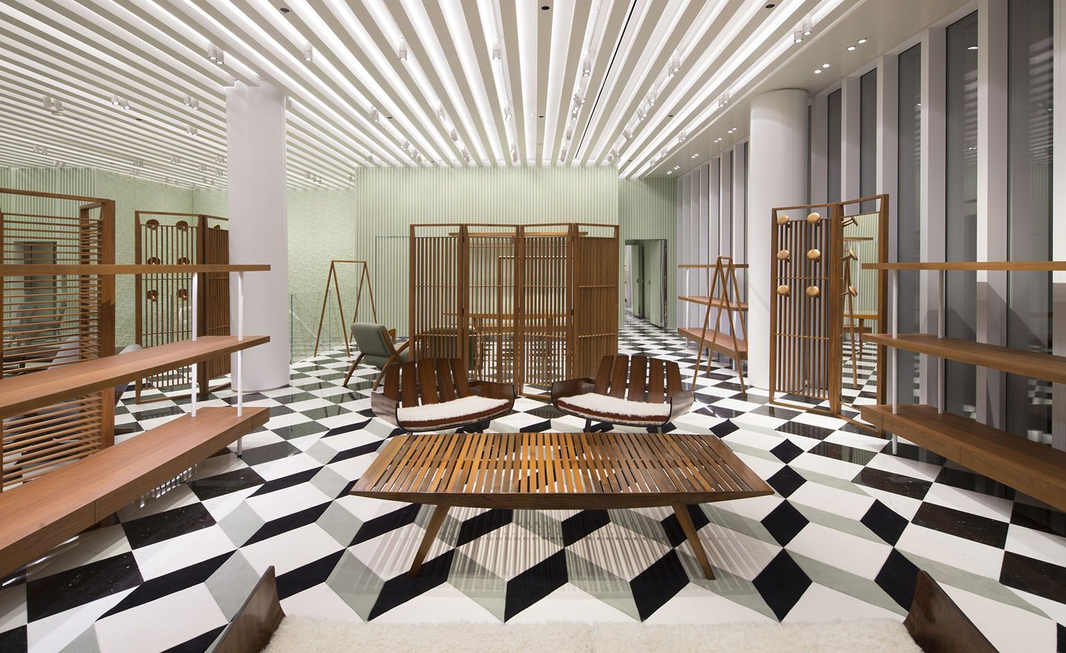 Prada Moves To A Modernist Brazilian Beat At Its New Miami
