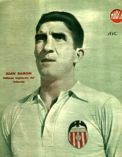 JUAN RAMÓN (Valencia C.F. - 1944-45) D. Marca